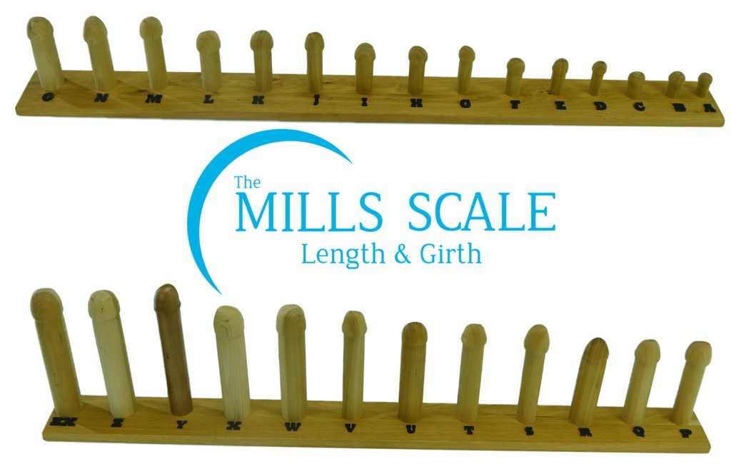 The Mills Scale, measure of penis size