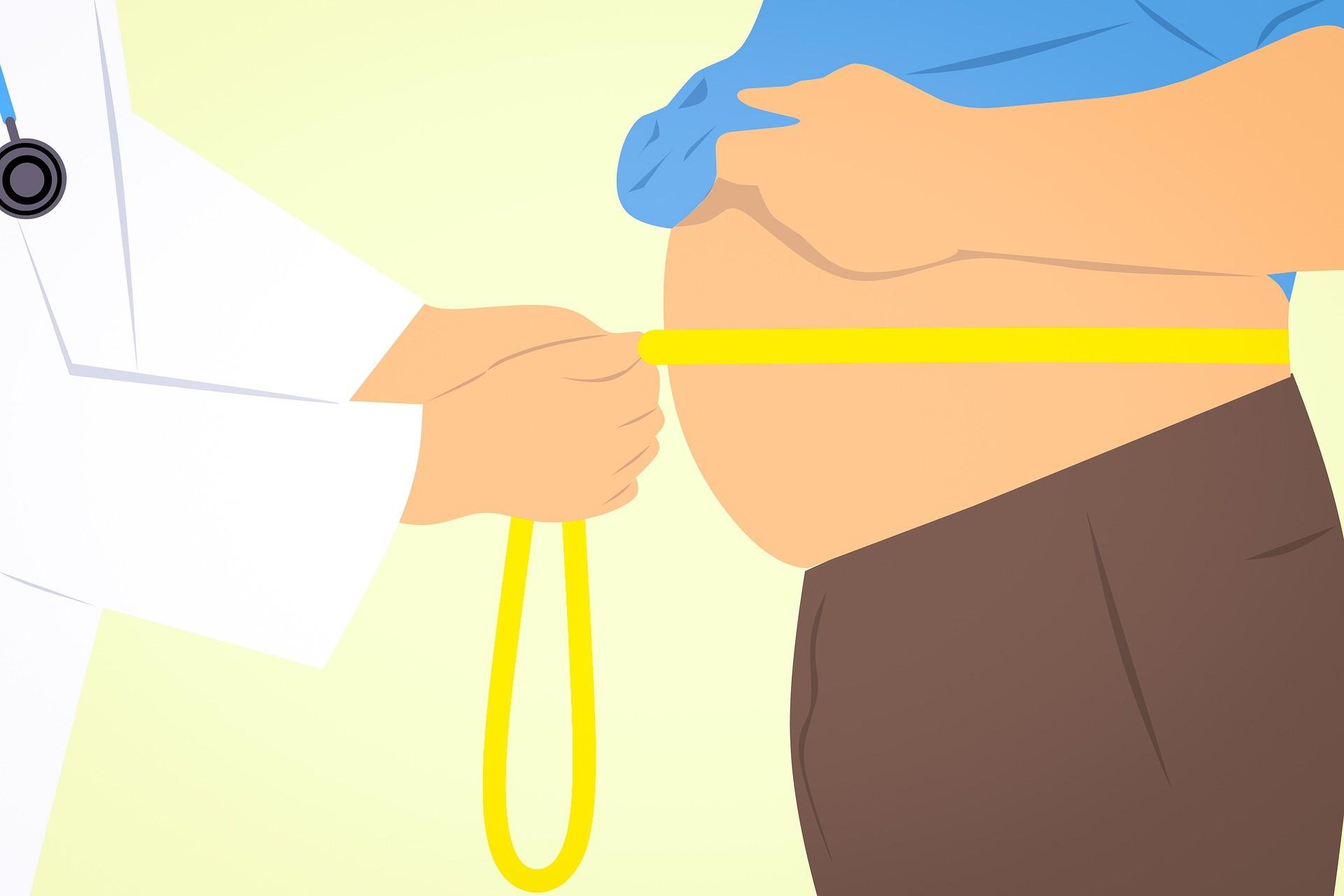 excess supra pubic fat